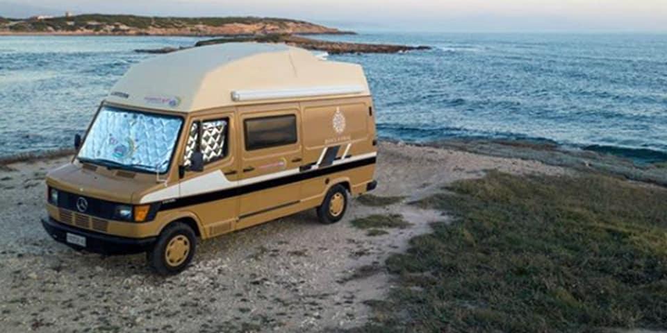 playas bonitas furgoneta camper