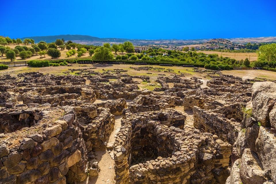 Der nuraghische Komplex von Barumini Su Nuraxi, UNESCO Welterbe