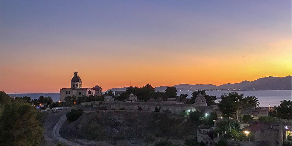 Tramonto Cagliari