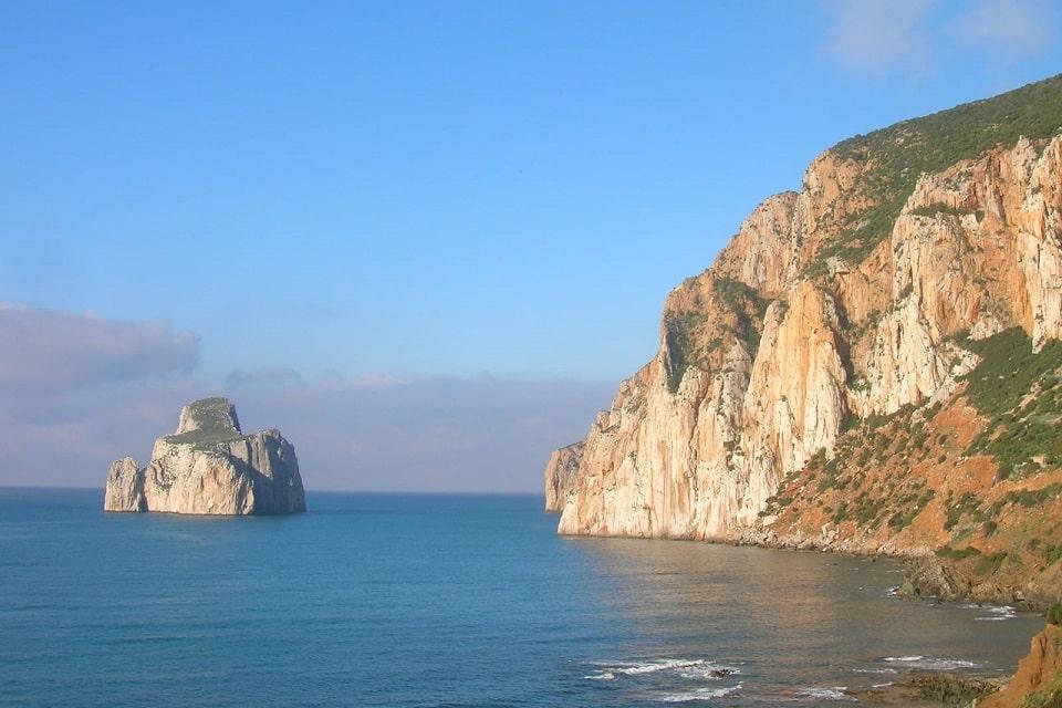 Masua mit seinem wunderschönen Pan di Zucchero, dem Kletterparadies auf Sardinien