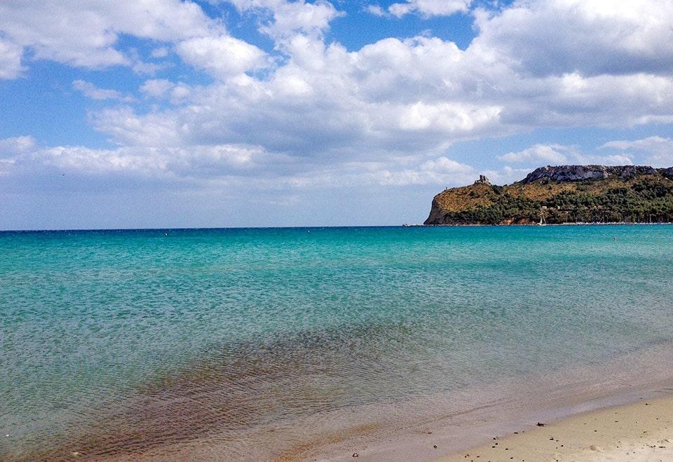 South Sardinia coast    Poetto beach