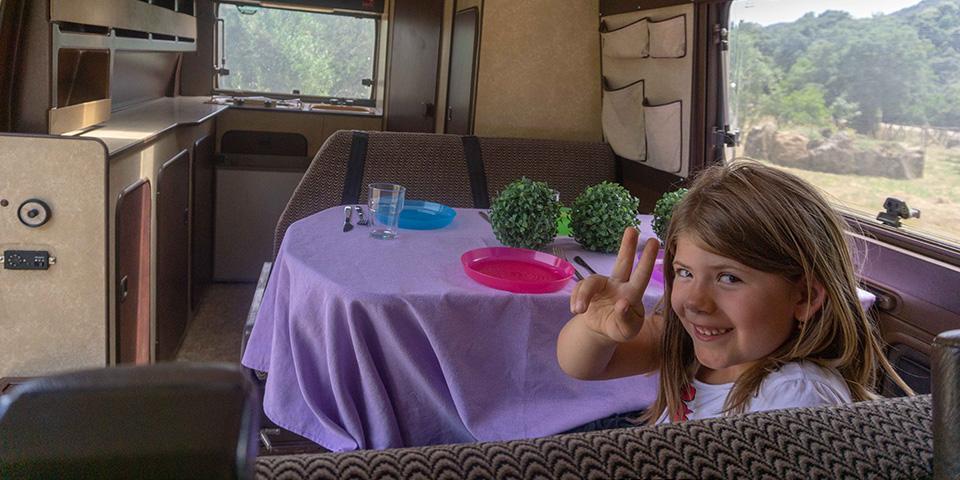 Cerdeña en autocaravana con niños