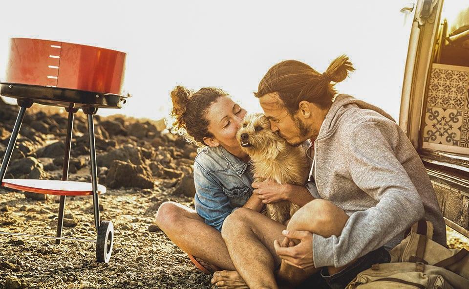 Sardegna in camper con cane