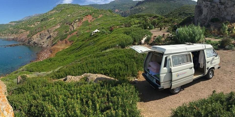 Camping sauvage en Sardaigne