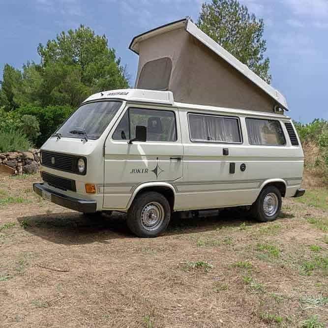 Noleggio camper Sardegna | Westfalia Joker T3