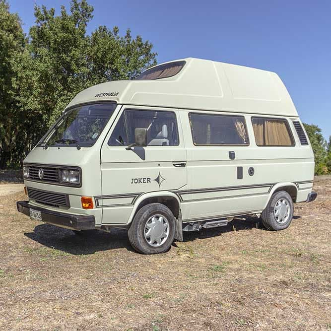 Wohnmobil mieten Sardinien | Westfalia Joker T3 Hochdach